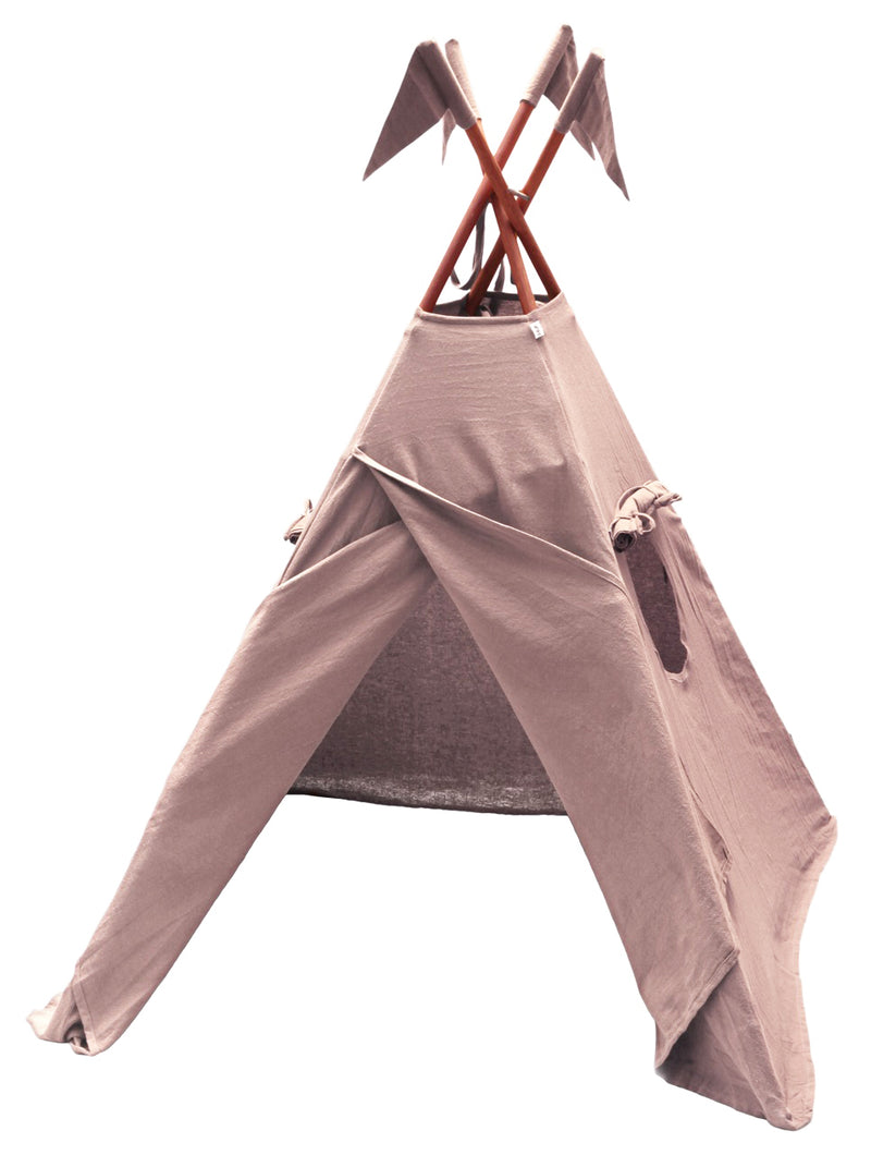 Numero 74 | TeePee Tipi Tent Dusty Pink-Scandikid