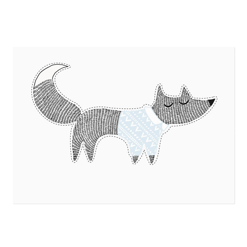 Bloomingville | Wall Sticker Fox-Scandikid
