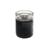 50 hour jar candle in black