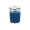 50 hour jar candle in blue