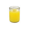 50 hour jar candle in yellow
