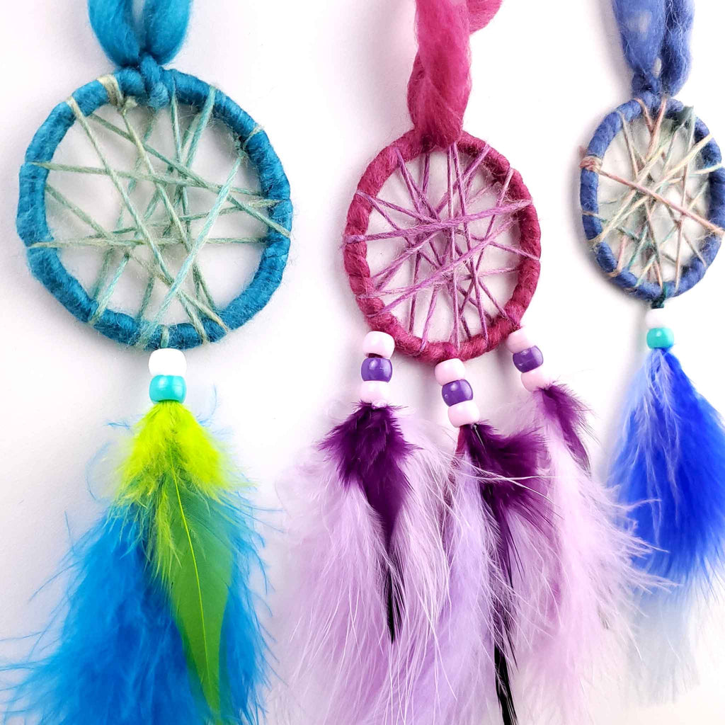 make your own dream catcher kids