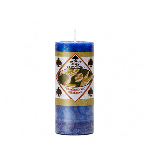 motor city hoodoo helping hand candle 40 hour