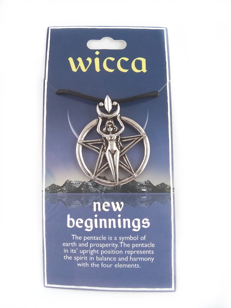 Wicca new beginnings necklace