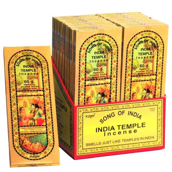 60g packs of India Temple Incense