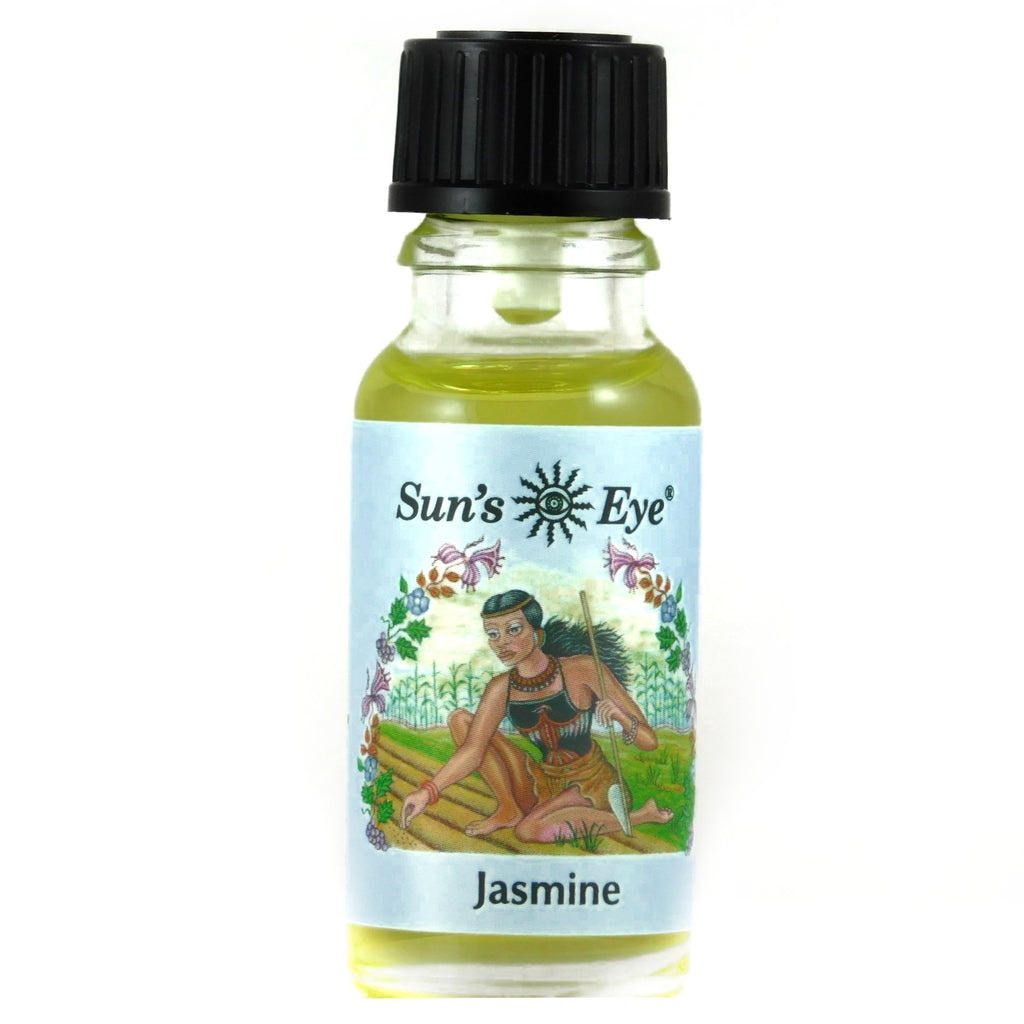 0.5 oz Sun's Eye Jasmine Oil