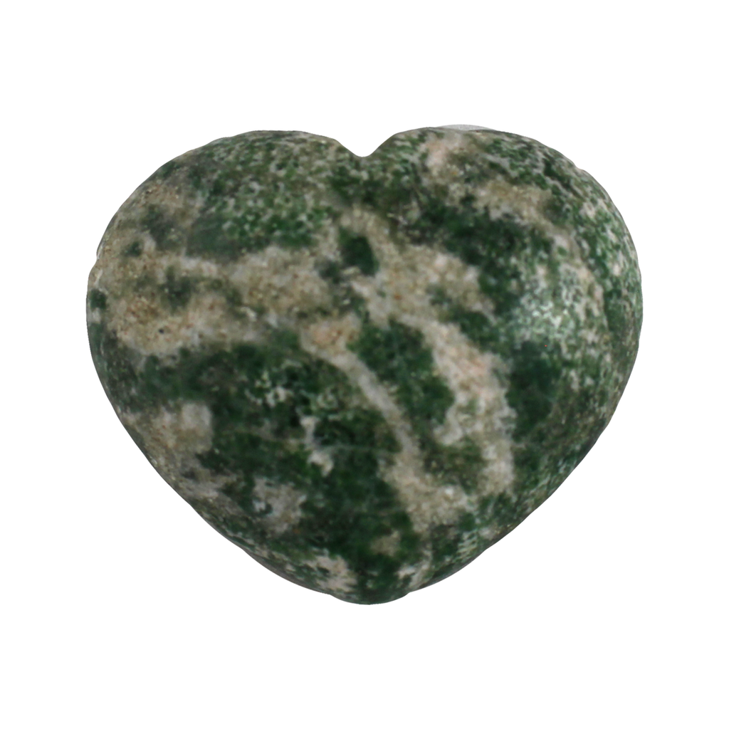 Large heart-shaped Tree Agate