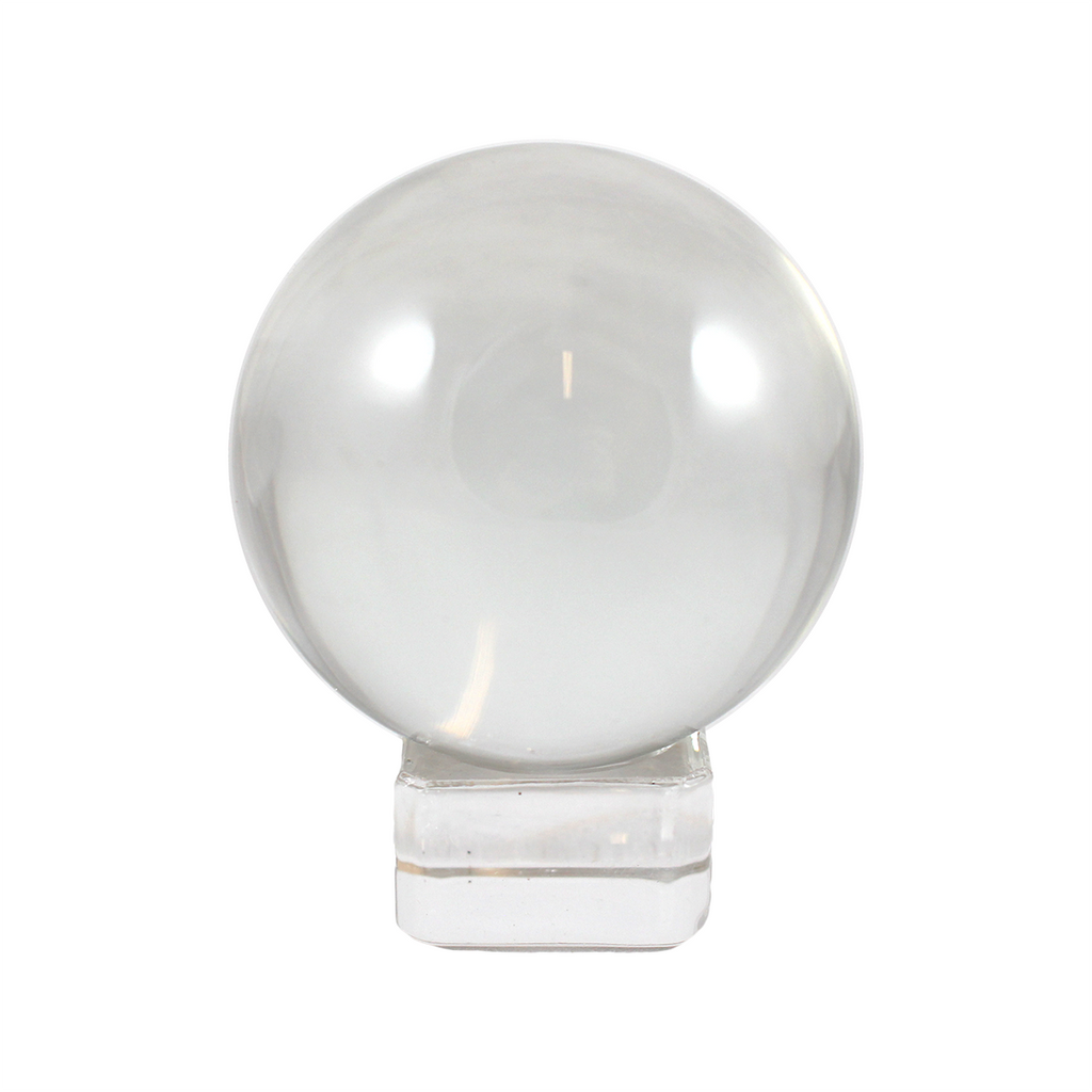Two-inch clear quartz sphere