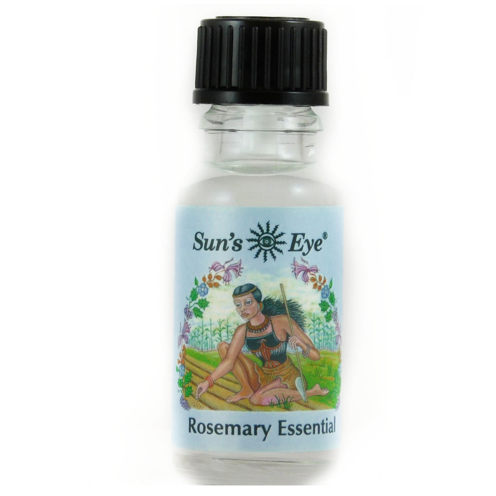 0.5 oz Sun's Eye Rosemary Essential Oil