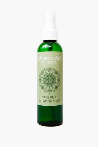Moonwater Elixirs Sage Plus Clearing Spray 8oz