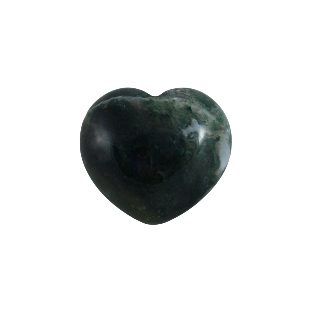 Small heart-shaped Fancy Jasper