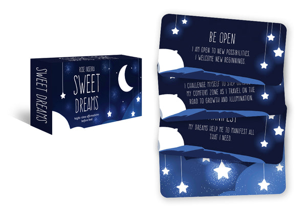 sweet dreams cards and deck