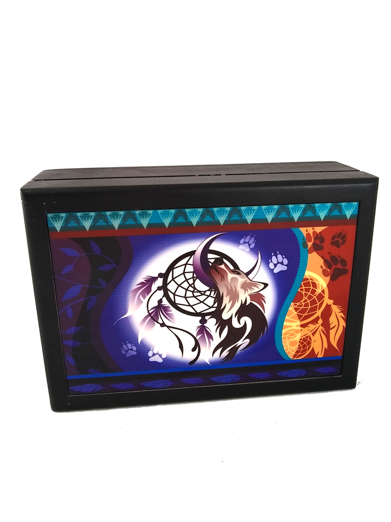 wolf dreamcatcher box