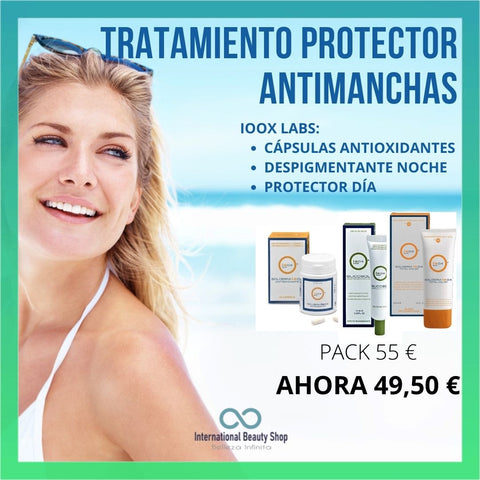 pack protector solar antimanchas Ioox Labs