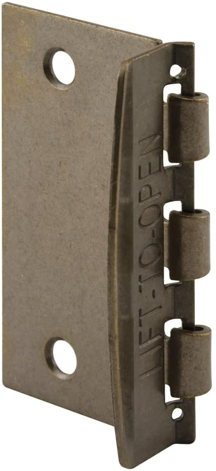Door Defender Flip Lock - Antique Brass