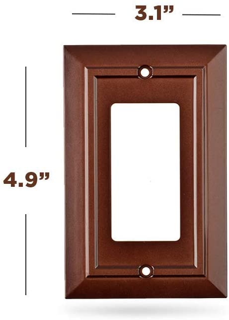 Decora Outlet Cover - Brown