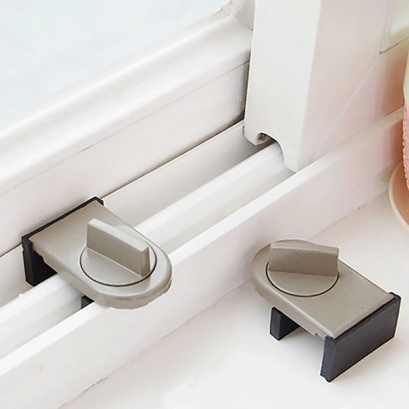 Clear Sliding Door and Window Lock