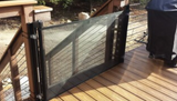 Retractable Gate 52""