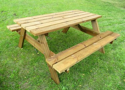Adare Four Seater Picnic Bench