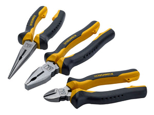 Roughneck 3 Piece Plier Set
