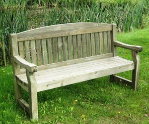 Cashel Three Seater Wooden Bench