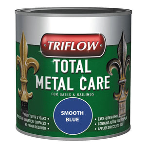 Triflow Metal Care For Gates & Railings 1L Blue Smooth