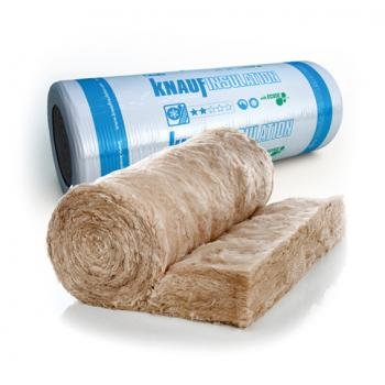 Knauf Ecose Loft Insulation 44 Combi Roll 100mm X 13.89M2
