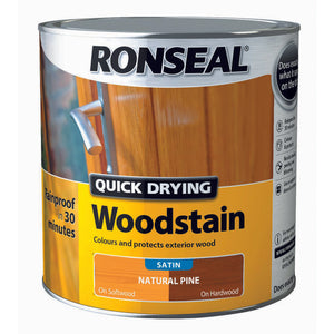 Quick Drying Woodstain 2.5L Natural Pine