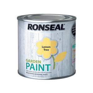 Ronseal Garden Paint 250ml Lemon Tree
