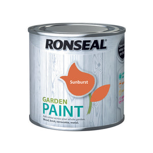 Ronseal Garden Paint 250ml Sunburst