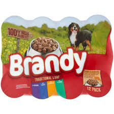 Brandy Dog Food (12 pack)