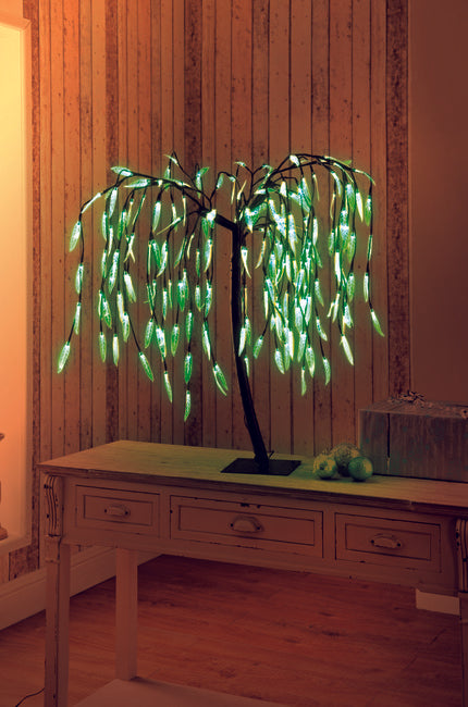 70Cm Weeping Willow Tree Green