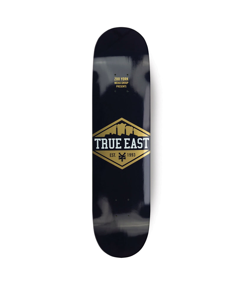 True East (Black / Gold) Skateboard Deck