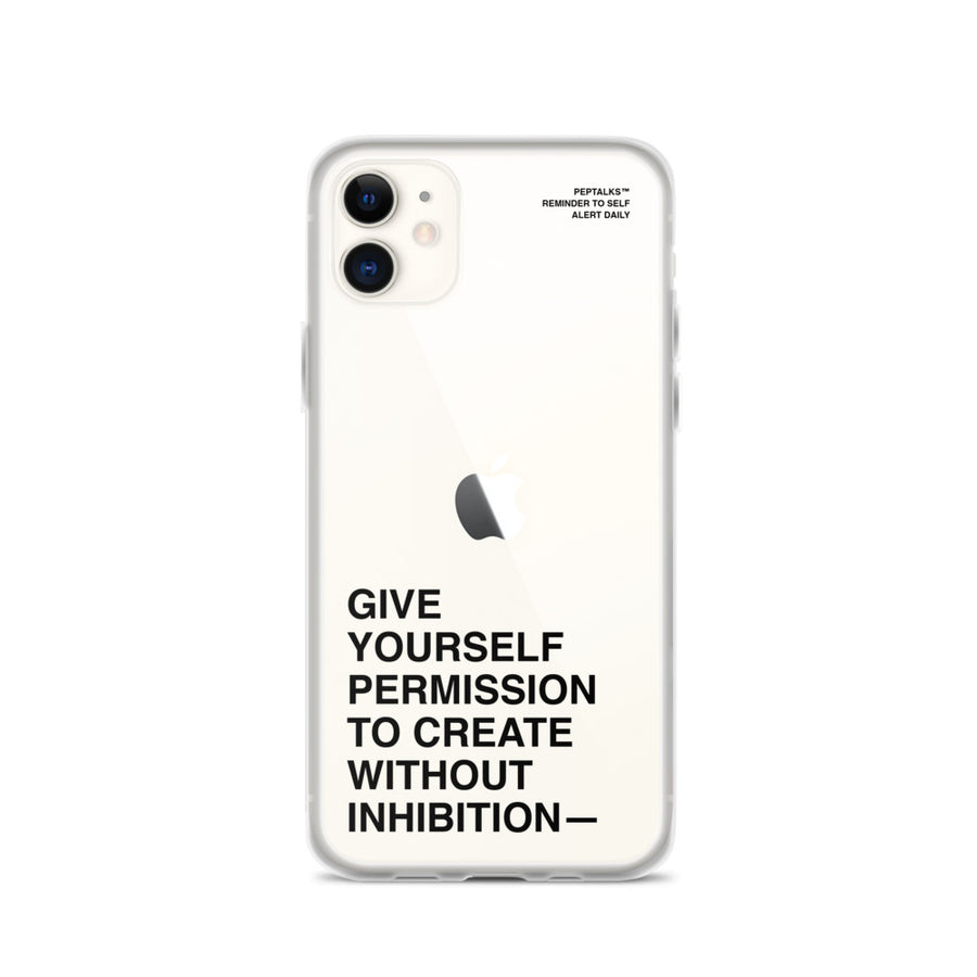 Give Yourself Permission - iPhone Case