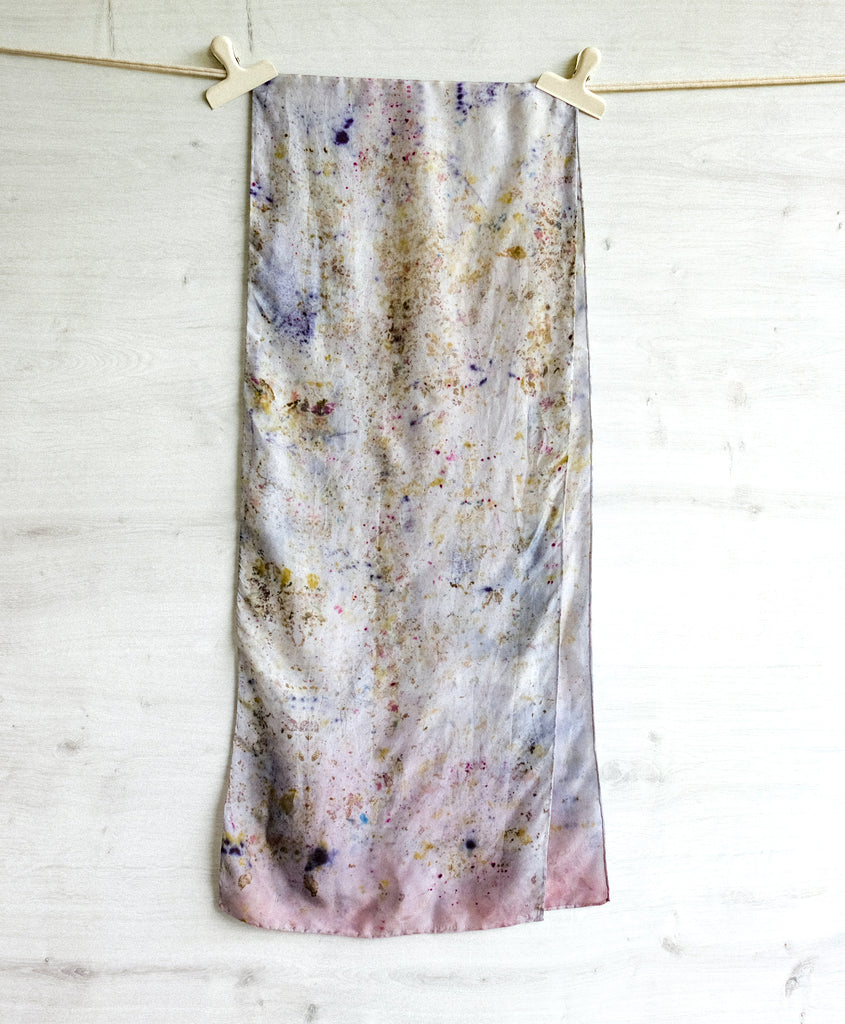 FLOWER CONFETTI Long Scarf