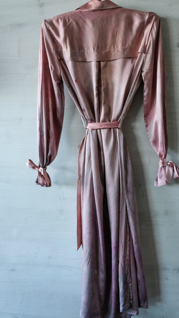 WASHED PINK DUSTER