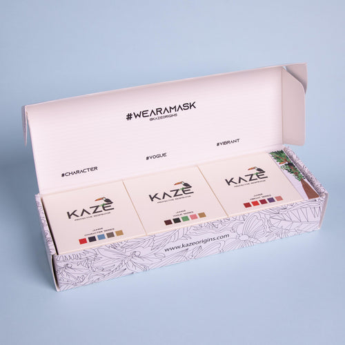 Junior Variety Bundle w/ water-soluble chalk (1x each color series) - KazeOrigins