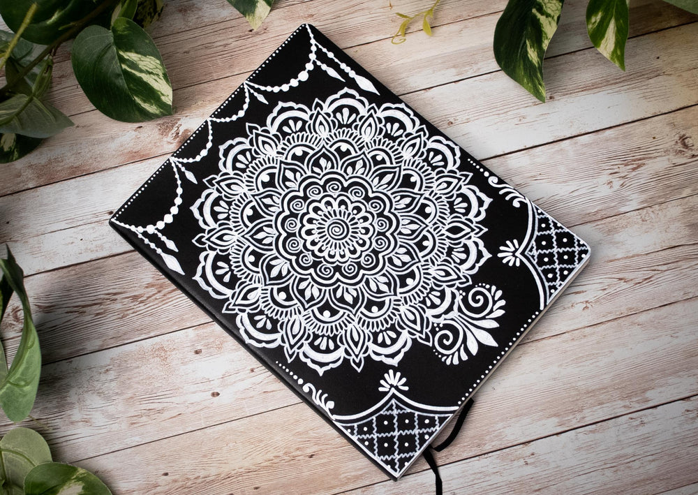 Mandala Softcover Lined Journal