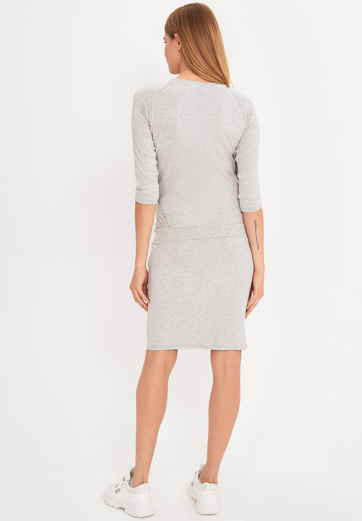 grey-cotton-midi-maternity-nursing-dress3