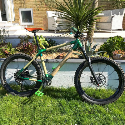 Custom MTB 650b by Tim