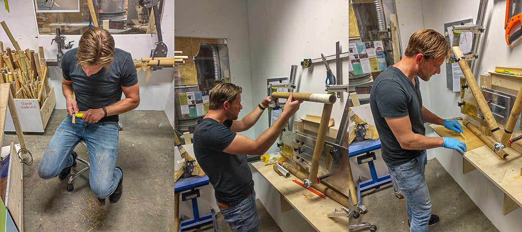 Build process of the frame
