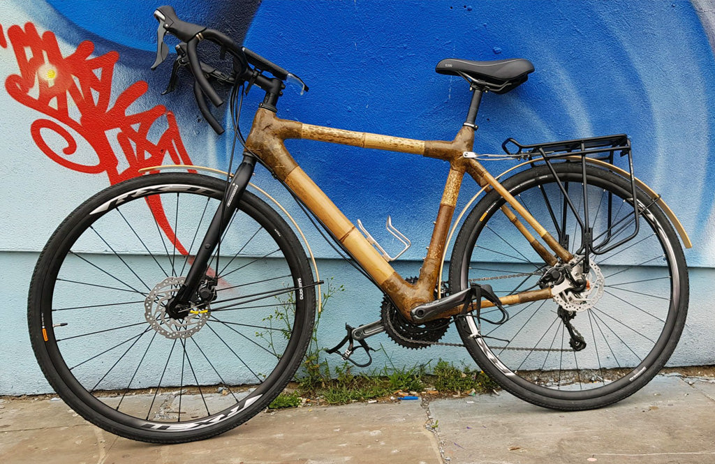 Charlies Custom Touring Bike bamboo bicycle Club