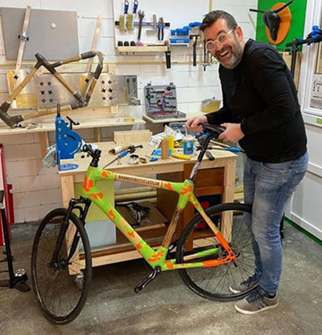 Tim van Woudenberg – Founder of Bamboo Bicycle Club Amersfoort
