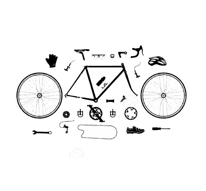 Single Speed Component Pack