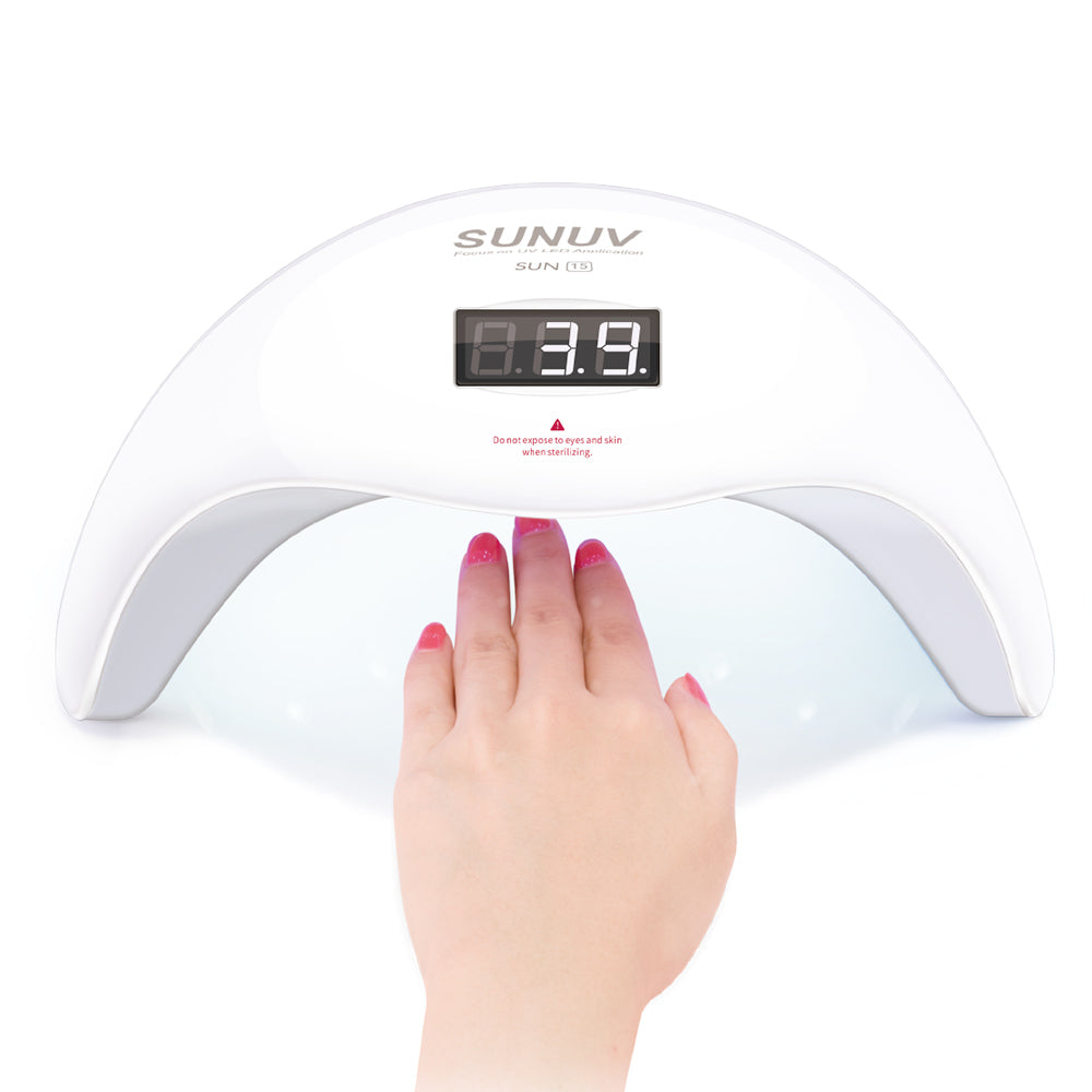 Load image into Gallery viewer, SUNUV UVLED Nail Lamp & UVC Sterilizer SUN15