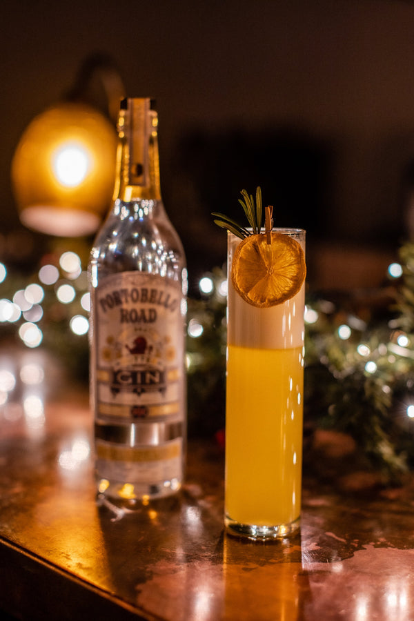 Festive Orange and Rosemary Fizz