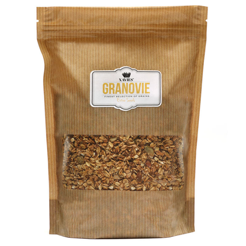 XAVIES' GRANOVIE Extra-Seeds | 300 gram