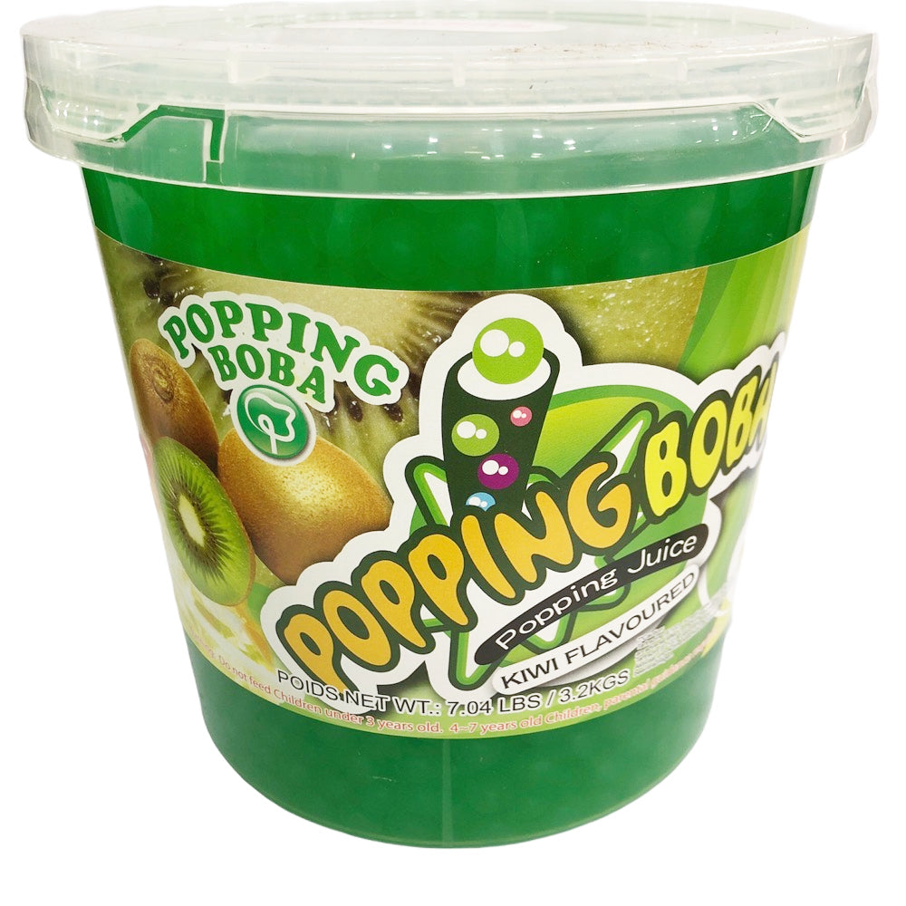 B16 R&D TEA Kiwi Juice Popping Boba 3.2kg