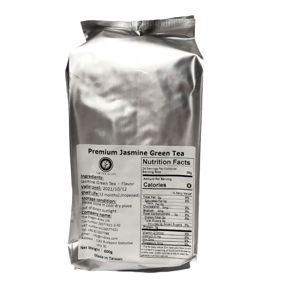 D20 R&D TEA Premium Jasmine Green Tea 0.6kg/Bag