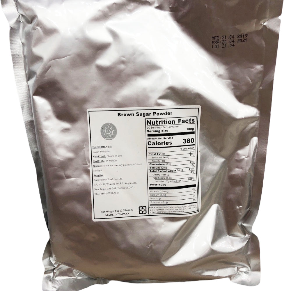 E12 R&D TEA Brown Sugar Powder 1kg